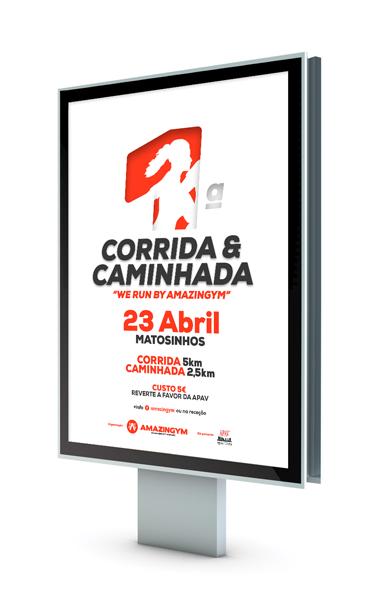 Cartaz Design Maratona, designer de cartaz, cartaz design. empresa design gráfico porto