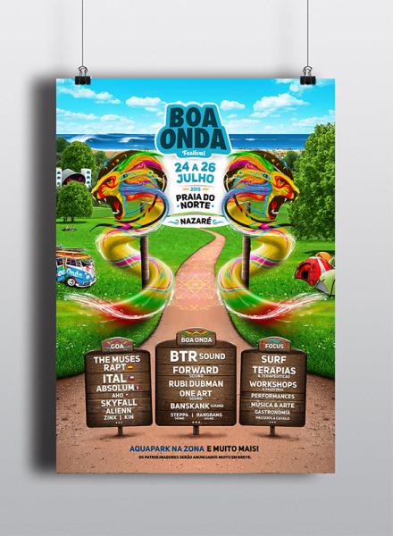 Cartaz Boa Onda Festival