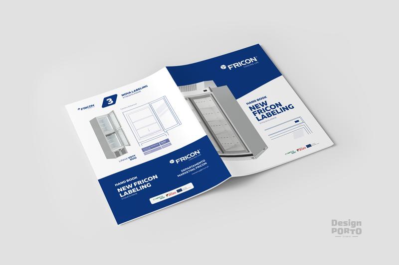 Design PORTO Fricon Paginação Brochura